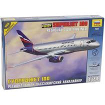 Avion Zvezda Superjet 100 1/144 Armar/ Revell Tamiya Testors