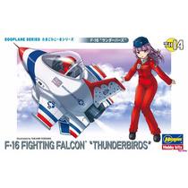 Avion Eggplane F-16 Falcon Thunderbirds Hasegawa