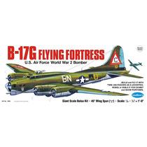 Avión Glow, Kit Guillows B-17g Flying Fortress