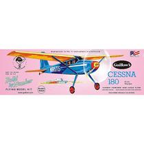 Avión De Liga, Kit Para Construir Guillows Cessna 180