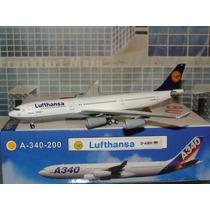 Avión Lufthansa Airbus A340-200 Aeroméxico Aeroclassics