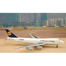 Avión Lufthansa Cargo Wow Boeing 747-400 Raro Aeromexico