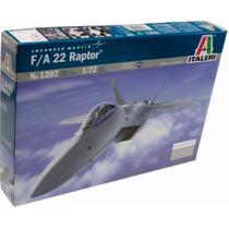 Italeri Avion F22 Raptor 1/72 Armar Pintar /no Revell Tamiya