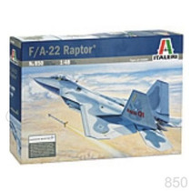 Avion Italeri F22 Raptor 1/48 / Revell Tamiya Testors