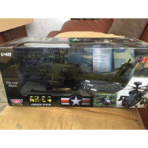 Helicóptero Escala 1/48 Ah-64 Longbow Apache Marca Motormax