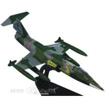 Italeri Die Cast Avion F104g 50000 Hr 1/100 C/ Exhibidor