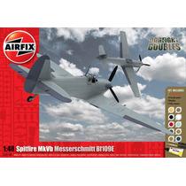Kit Modelo Aeronaves - Airfix Messerschmitt Bf109f-4 Y