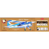 Kit Armar Avion Guillow 1/24 Dhc-2 Beaver 305 L Madera Balsa