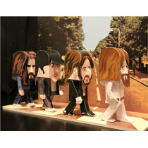 Ppkf 003, 20 Moldes De The Beatles Para Modelar En Papel 2x1