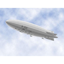 Ppkf 010 15 Moldes De Dirigibles Zeppelin Armar En Papel 2x1