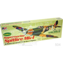 Guillows 504 Avion Spitfire Mk1 Armar Madera Balsa Y Liga