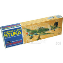 Guillows 508 Avion Stuka Junkers Ju87b Armar Madera Balsa