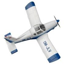 Modelo Plano - Zlin Z-42 1:72 Fácil Kit De Plástico En Min