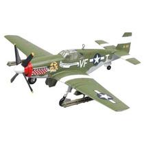 Modelo Plano - P-51 Antes De Cristo Mustang Capitán D Genti
