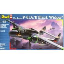 Modelo Plano - Revell Rv180 1:48 P-61b Negro Viuda De Combat