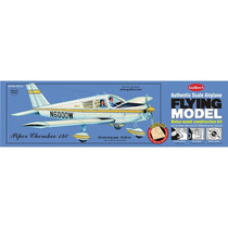 Kit Para Armar Avion Guillows Piper Cherokee 140 Motor Liga