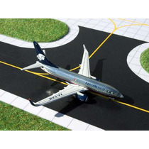 Avión Aeroméxico 737-700 Rarísimo Metálicos Gemini Jets