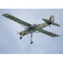 Planos Del Fieseler Storch Fi-156 De Radio Control.