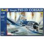 Modelo Plano - Revell Vought F4u-1a Corsair Avión De Combate