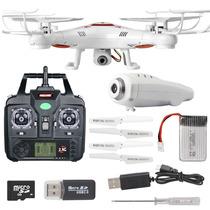 Dron Cuadcoptero Camara Hd Luz Led Nuevo ¡xyma X5c Upgrade!