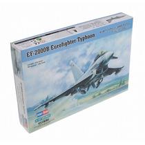 Modelo Plano - Typhoon 2000b 1:72 Kit Hobbyboss Plástico