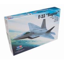 Modelo Plano - F-22a Raptor 1:72 Hobbyboss Plástico