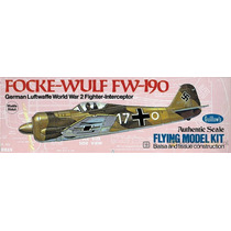 Guillows 502 Avion Focke Wulf Fw190 Armar Madera Balsa Liga