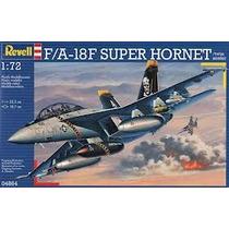 Modelo Plano - Revell 1:72 F A-18f Super Hornet Biplaza