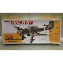 Kit Avion Guillows Junkers Ju-87b Stuka.gigante 1/16 1002