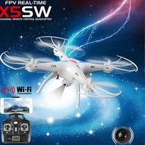 Drone Syma X5sw Explorers Wifi Fpv Camara Tiempo Real