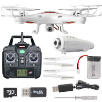 Drone Syma X5c-1 Camara De Video Hd 4 Helices Extras Gratis