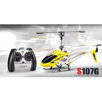 Helicoptero Rc Control Remoto Original Syma 107g