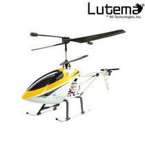 Lutema Large 3.5ch Remote Control Helicopter - Yellow