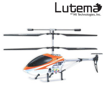 Lutema Mid-sized 3.5ch Remote Control Helicopter - Orange
