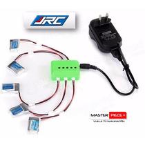 Cargador Para 5 Baterías Dron Jjrc H20