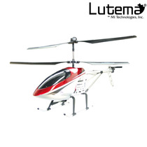 Lutema Large 3.5ch Remote Control Helicopter - Red