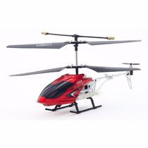 Helicoptero Dron Control Remoto 15m Alcance Luz Led 2 Canale