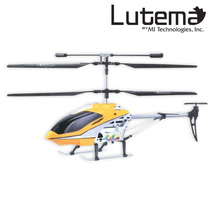 Lutema Mid Sized 3.5ch Remote Control Helicopter Yellow