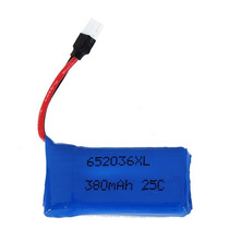Bateria 3.7v 380mah 25c