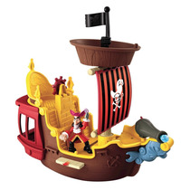 Barco Capitan Garfio Fisher Price Jake Y Los Piratas De Nunc