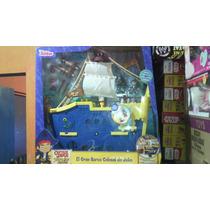 Disney Jake Y Los Piratas El Gran Barco Colosal Mattel