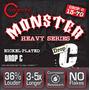 Cleartone Monster Drop C 13-70 Cuerdas Guitarra Dhl Gratis