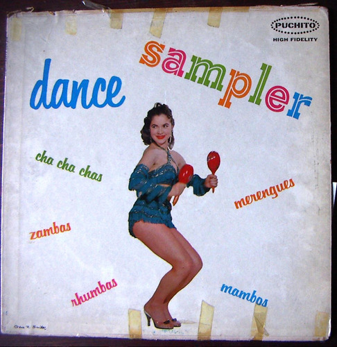 Afroantillana, Puchito, Dance Sampler, Lp 12´ Dvn