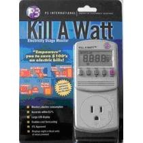 Kill A Watt Monitor De Consumo Ahorra Electricidad Mdn