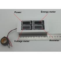 Medidor Monitor Produccion Paneles Solar Kw Kwh Volts Amper