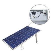 Panel Solar Y Micro Inversor Con Soporte, Interconexión Cfe