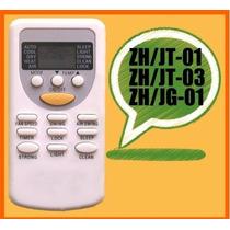 Control Remoto Minisplit Zh/jt-01 Zh/jt-03 Zh/jg-01 Prime