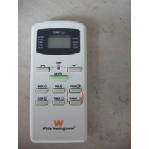 Control Remoto White Westinghouse Mini Split Clima Aire