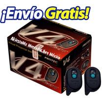 Moto Alarma Protec V4 Inmovilizador Con Sensor De Movimiento