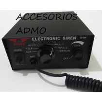 Sirena Altavoz 100 Watts 7 Tonos Federal Escoltas Ambulancia